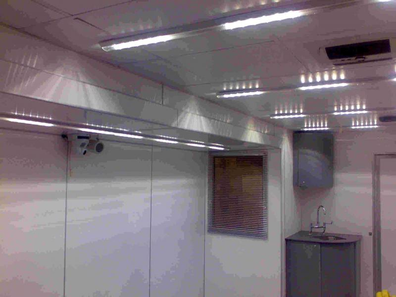 Interior lighting with bio cover
